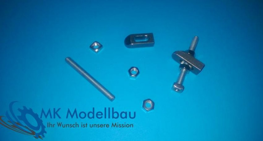 Clamps for milling machine