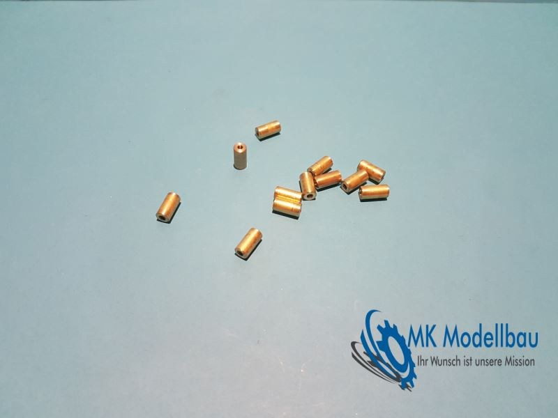 Brass bushings for Sherman casters (HL M4A3)