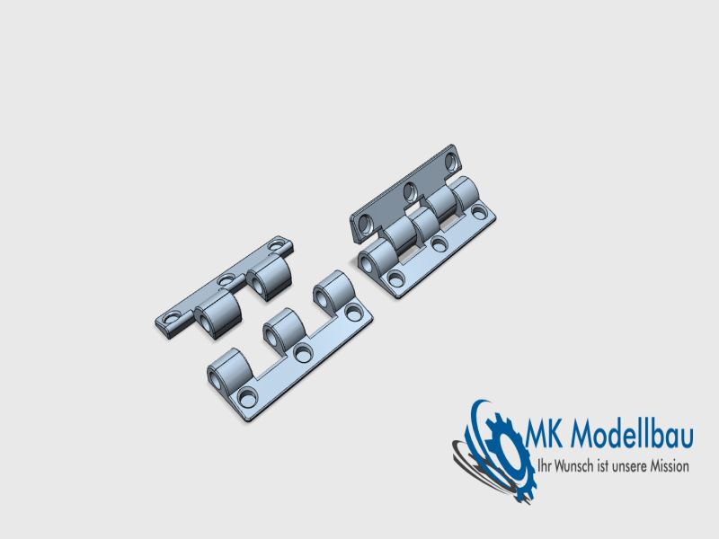 "Hinge ""Panzer 4"" type 2 (2 pieces)"