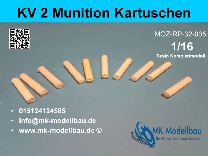 KV 2 ammunition cartridges